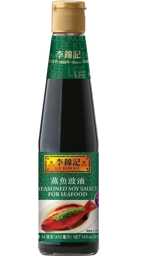 Seasoned Soy Sauce For Seafood Soy Sauce Lee Kum Kee