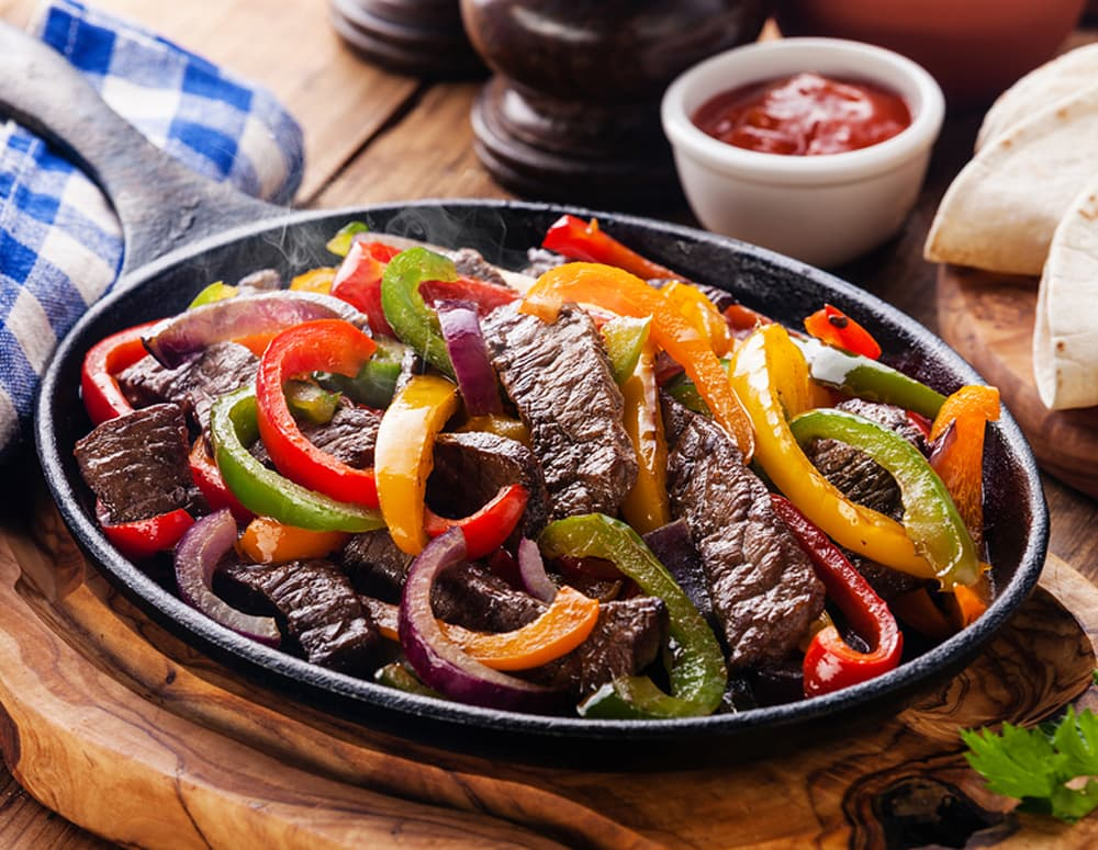 Recipe Beef Fajitas with Hoisin Sauce