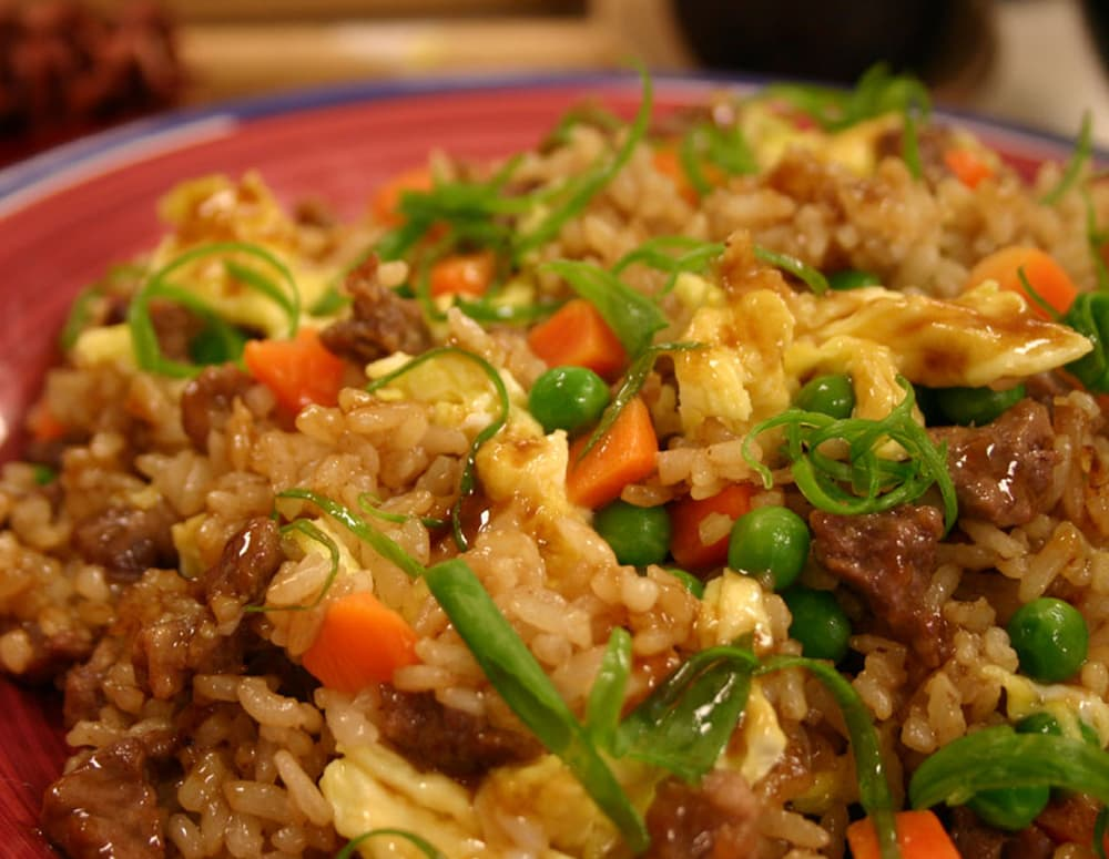 Recipe Beef Fried Rice with Oyster Sauce