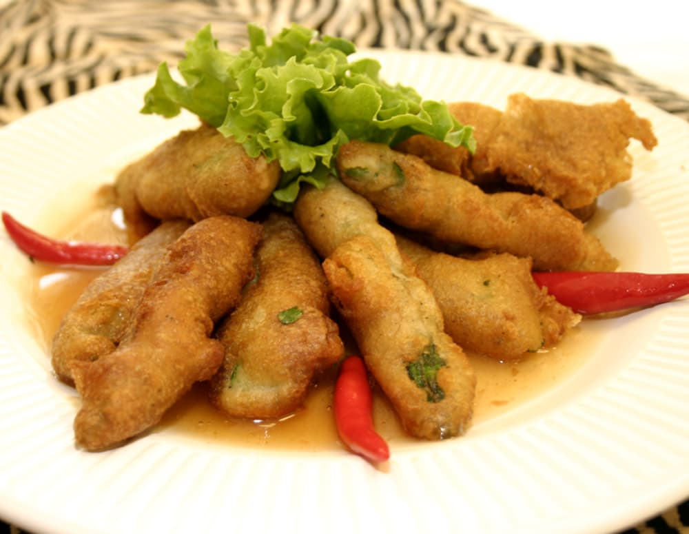 Recipe Beer Battered Asparagus with Plum Sauce