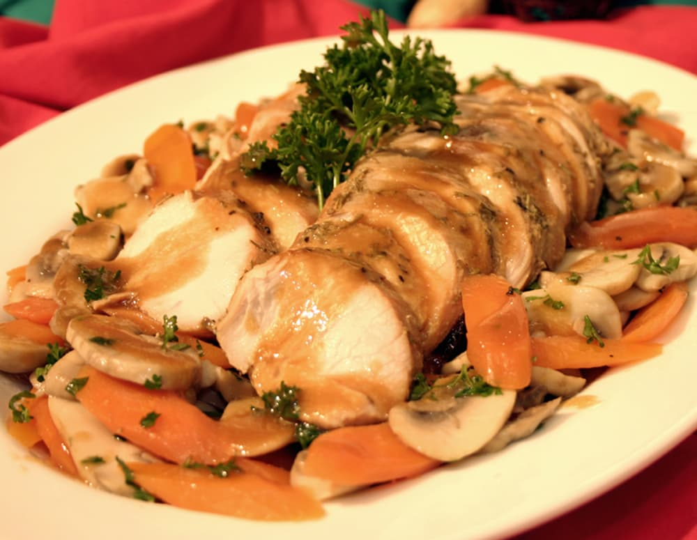 Rosemary Flavored Soy Turkey Tenderloin