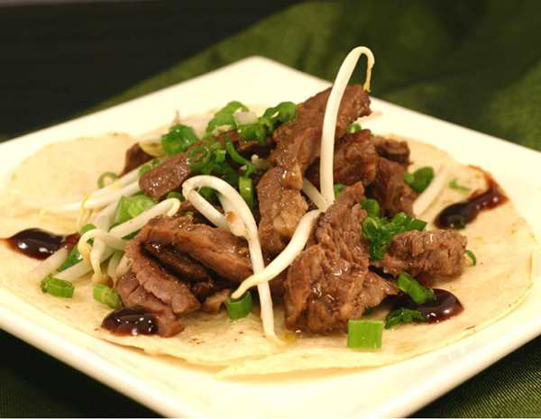 Recipe Sweet Boneless Short Rib Wraps with Lee Kum kee Hoisin Sauce
