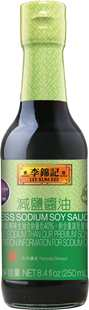 Less Sodium Soy Sauce 8.4 fl oz, 250ml
