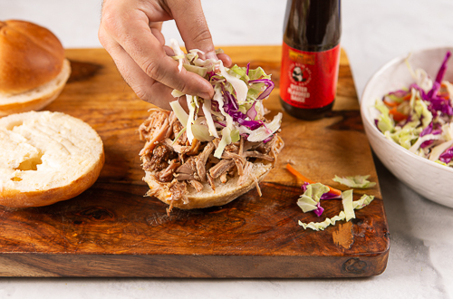 Recipe Apple Cider Pulled Pork Sandwich_Step 5