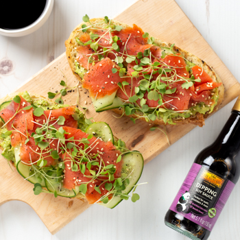 Recipe Avocado Toast with Smoked Salmon S