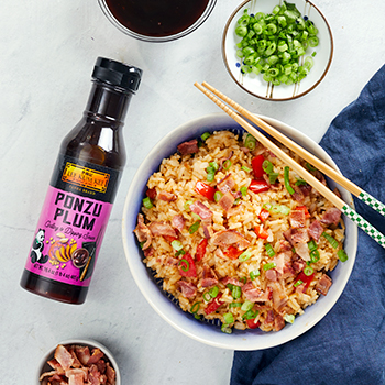 Recipe Bacon Ponzu Plum Fried Rice S