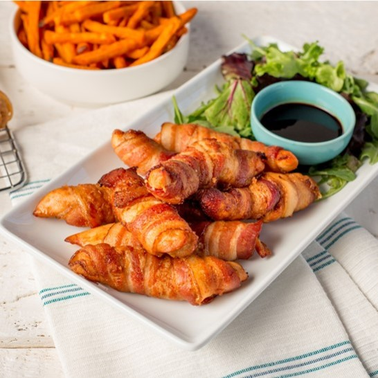 Recipe Bacon Wrapped Ginger Soy Chicken S