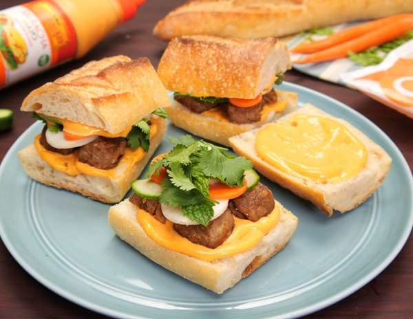 Recipe Banh Mi Meatball Sliders