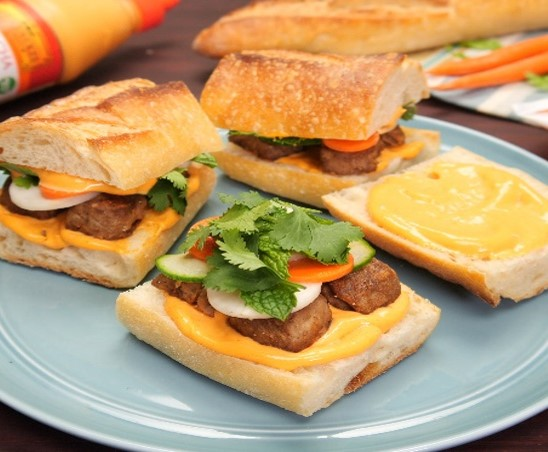 Banh Mi Meatball Sliders (Meatless) S