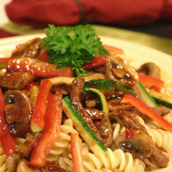 Recipe Beef Vegetable Pasta Rotini