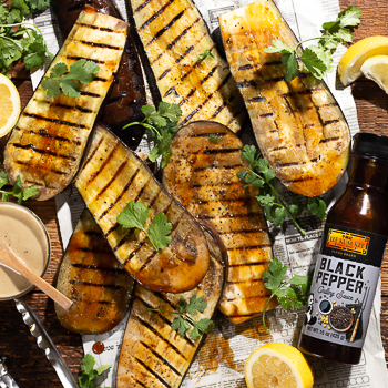 Recipe Black Pepper Chargrilled Eggplant S