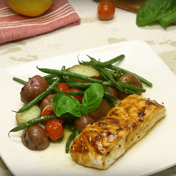 Black Pepper Halibut S