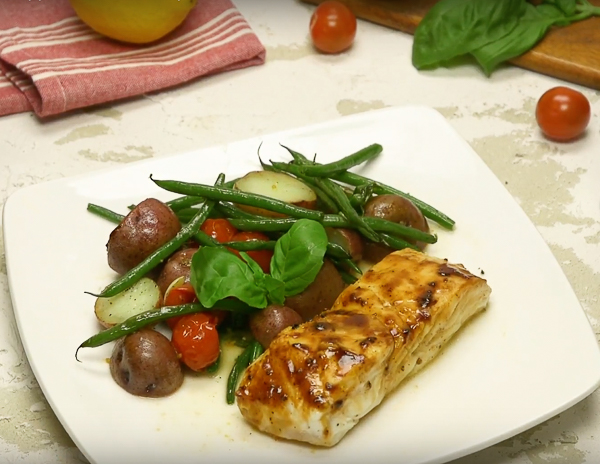 Black Pepper Halibut