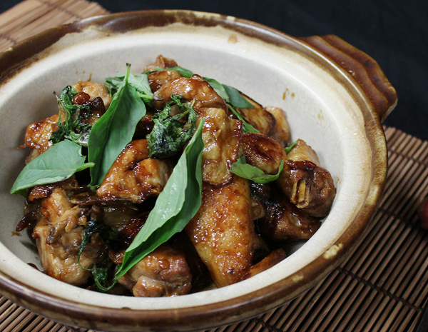 Recipe Braised Chicken with Oyster Flavored Sauce (3 Cup Chicken)