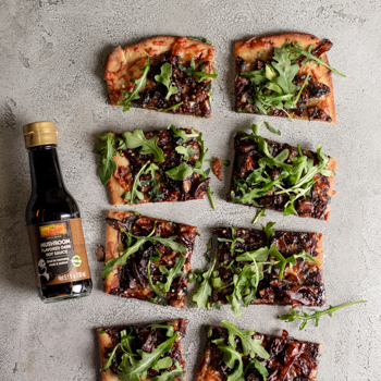Recipe Caramelized Onion & Mushroom Flatbread S
