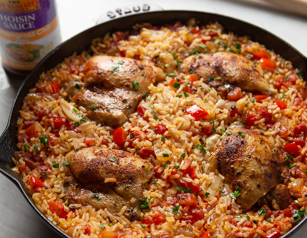 Recipe Chicken & Rice Skillet