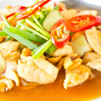 Recipe Chicken and Lychee