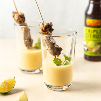 Recipe Chicken Skewer Mango Dip S