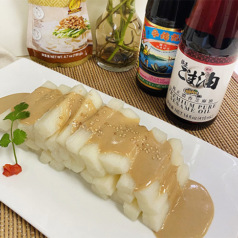 Recipe Chinese Yam with Sesame Sauce S