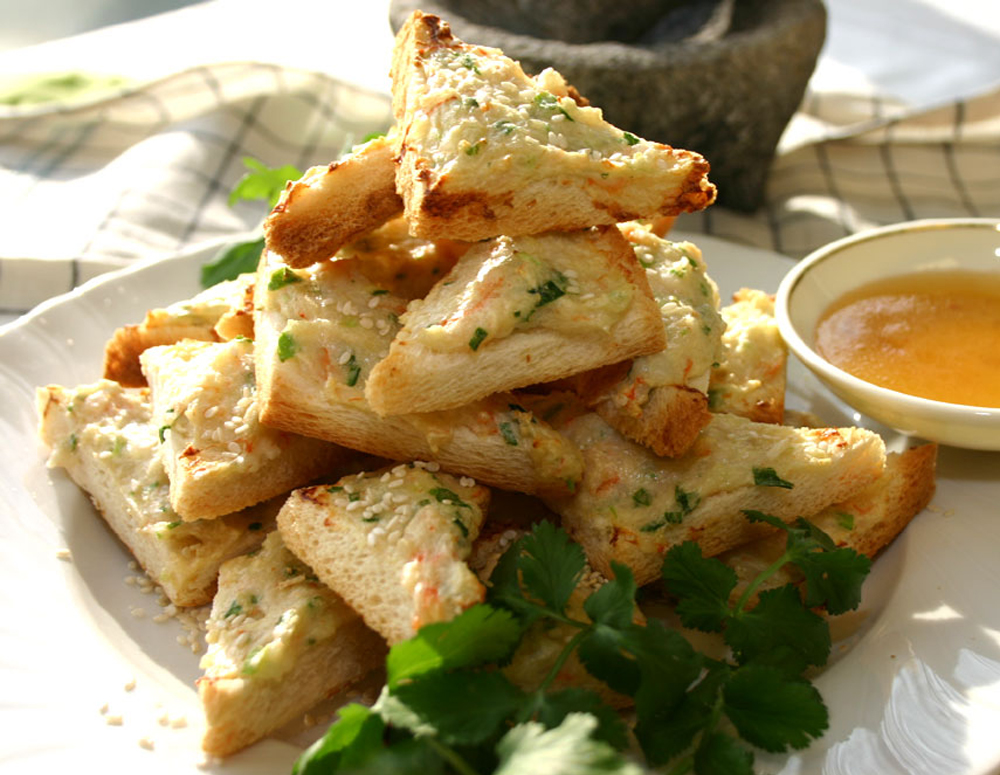 Recipe Crunchy Shrimp Toast