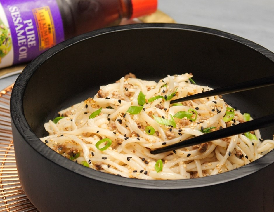 Easy Cold Sesame Noodles 123