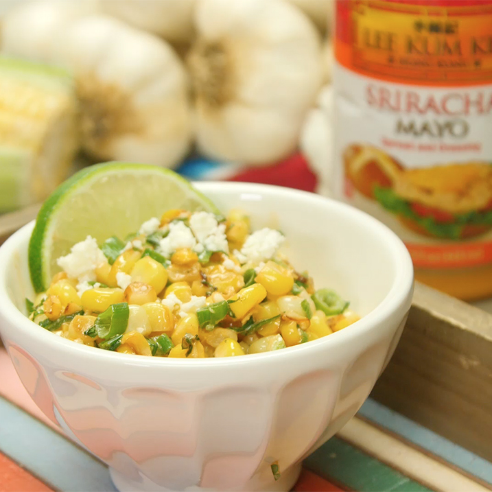 Recipe Esquites with Lee Kum Kee Sriracha Mayo S