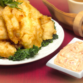Recipe Fried Dover Sole Fillet with Chili Garlic Sauce