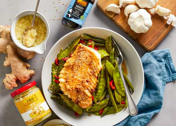 Recipe Glazed Cod