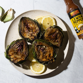 Grilled Artichokes with Lemon  Garlic S