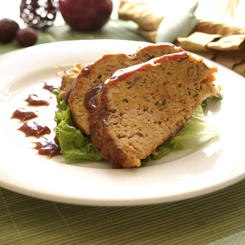 Recipe Hoisin Glazed Turkey Meatloaf