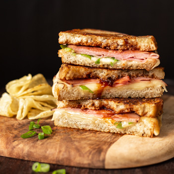 Recipe Hoisin Ham and Cheese Sandwich S