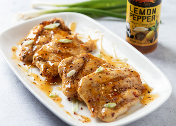 Lemon Pepper Grilled Chicken