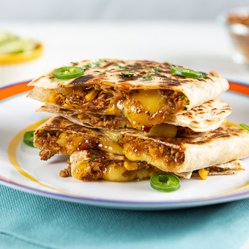 Recipe Lime Cilantro Chicken Quesadillas S