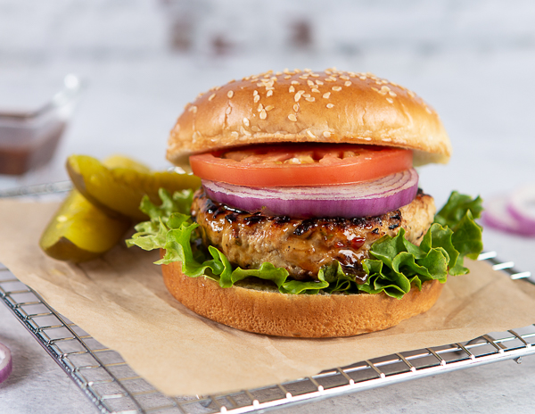 Recipe Lime Cilantro Turkey Burger