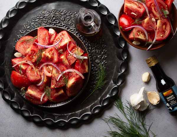 Recipe Mediterranean Tomato Salad with Fresh Herbs Re