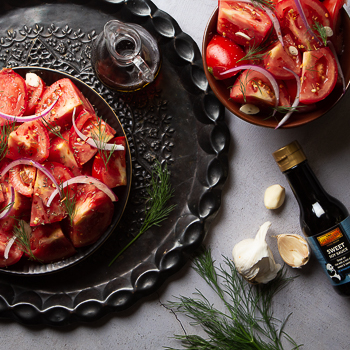 Recipe Mediterranean Tomato Salad with Fresh Herbs S Re