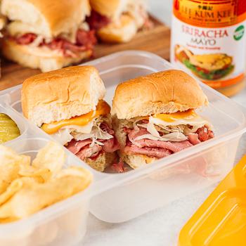 Recipe Mini Reuben Sliders S