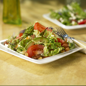 Recipe Mixed Greens and Fruit Salad with Hoisin Dressing