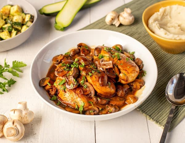 "Oyster Sauce Braised Chicken with Mushrooms"" (Default Alternate Text: ""Recipe Oyster Sauce Braised Chicken with Mushrooms"
