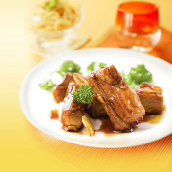 Recipe Plum Flavored Steamed Spare Ribs