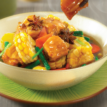 Recipe Pork Rib Stew with Mixed Vegetables