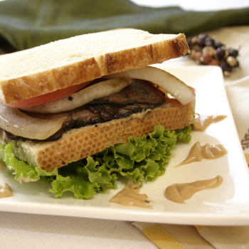 Recipe Portobello Hoisin Mayonnaise Sandwich