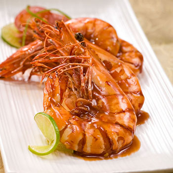 Recipe Prawns with Black Pepper and Butter Soy Sauce