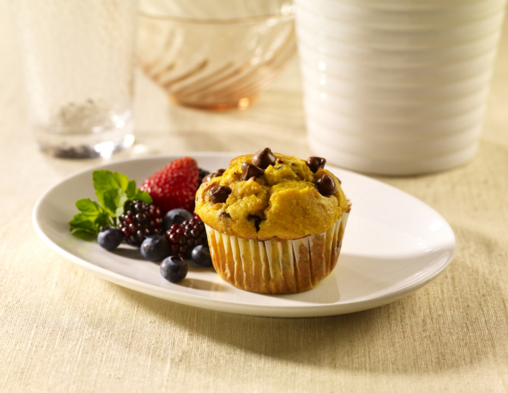 Recipe Pumpkin Muffins with Lee Kum Kee Plum Sauce
