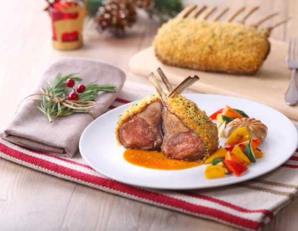 Recipe Rack of Lamb Provencal with Premium Soy Sauce