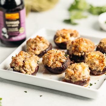 Recipe Sausage & Cheese Stuffed Mushrooms S