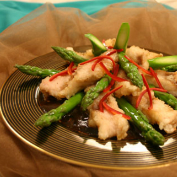 Recipe Sauteed Fish with Black Bean Garlic Sauce