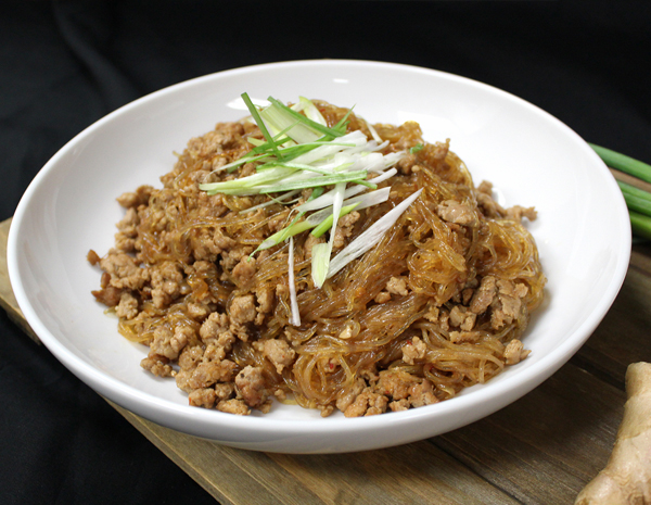 Recipe Sauteed Vermicelli with Spicy Minced Pork