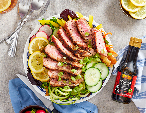 Recipe Seared Ahi Tuna Salad
