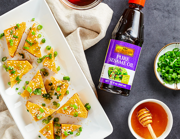 Recipe Sesame Honey Tofu
